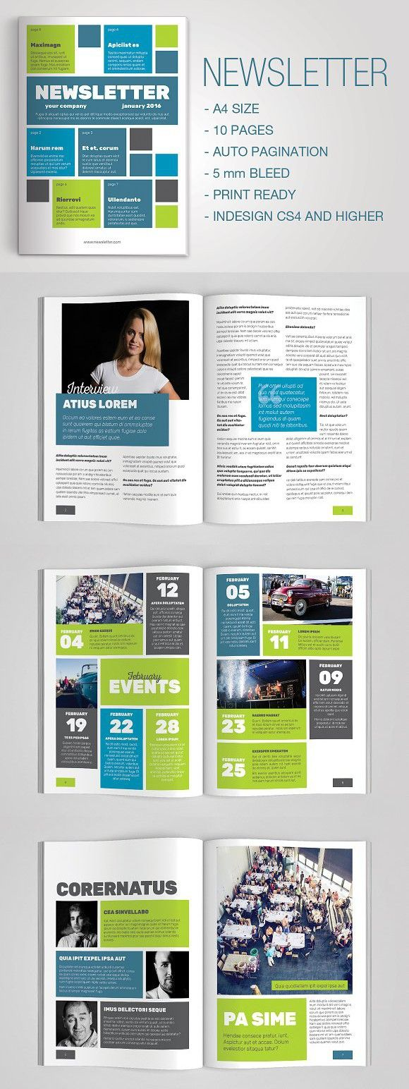 Best 25+ Newsletter design ideas on Pinterest | Newsletter layout ...