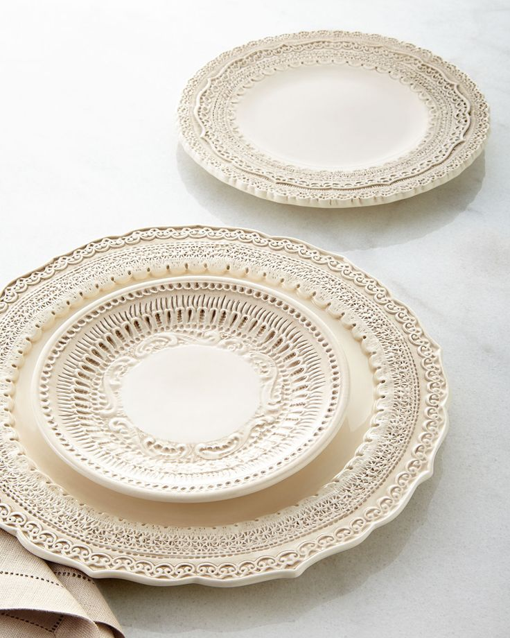 K--Solid Dinnerware : Glass & Baroque at Horchow