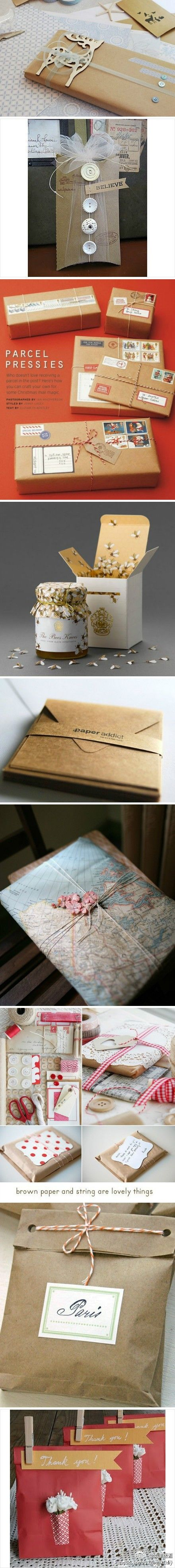 Gift and package wrapping