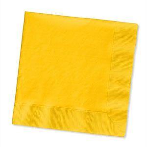 20801201B - Yellow Napkins Pack of 16 Napkins