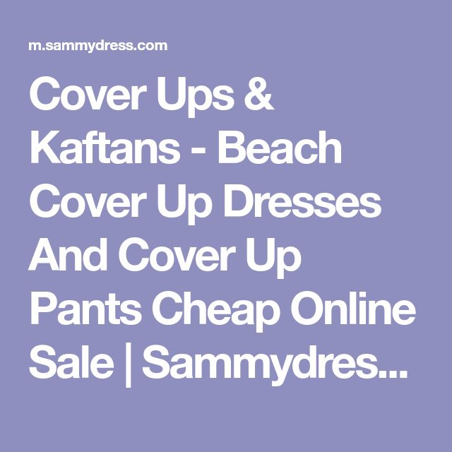 Cover Ups & Kaftans - Beach Cover Up Dresses And Cover Up Pants Cheap Online Sale | Sammydress.com