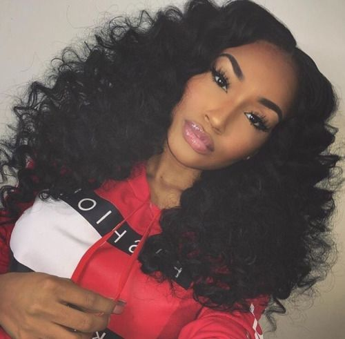 Astounding 1000 Ideas About Curly Sew In On Pinterest Curly Sew In Weave Short Hairstyles For Black Women Fulllsitofus