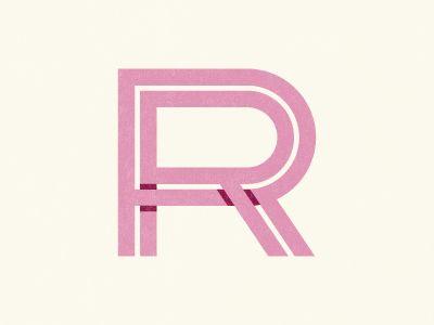 Dribbble - RR Monogram by Nate Luetkehans