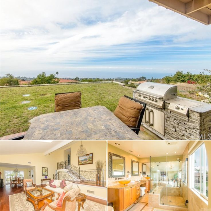 Rancho Palos Verdes - One-Of-A-Kind 4 bedroom, 3 bath family home with spectacular panoramic ocean views from Catalina to Malibu.