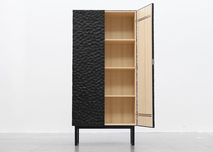 Havet pine cabinet by Snickeriet