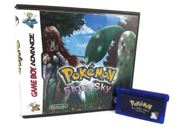 Pokemon Flora Sky for Game Boy Advance! GBA - Available Game Only or Game in Box!