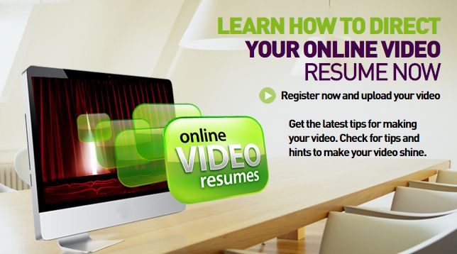 GET THE BEST JOBS IN THE MARKET WITH VIDEO RESUMES