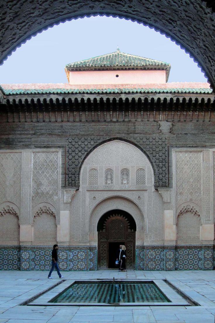 Marrakech 121118-1658 by Schoendy. Medersa Ben Youssef