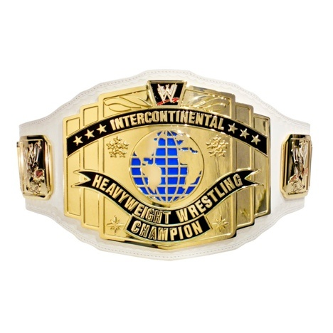 WWE White Intercontinental Championship - WWE    a MAN CAN DREAM RIGHT!