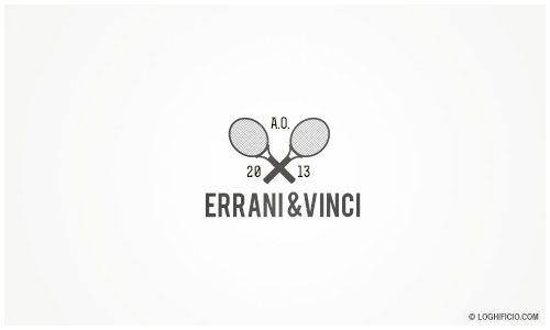 5.01.2013 Errani/Vinci win Australian Open women's double, logo design. #logo #graphic design #tennis
