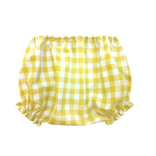 NEW IN violeta e federico yellow gingham bloomers