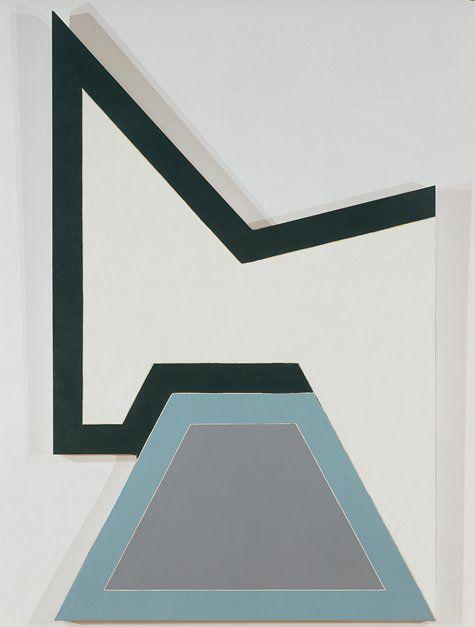 Wolfeboro I, (1966)    Frank Stella