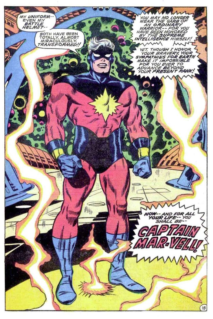 Captain Marvel (1968) Issue #16 - Read Captain Marvel (1968) Issue #16 comic online in high quality