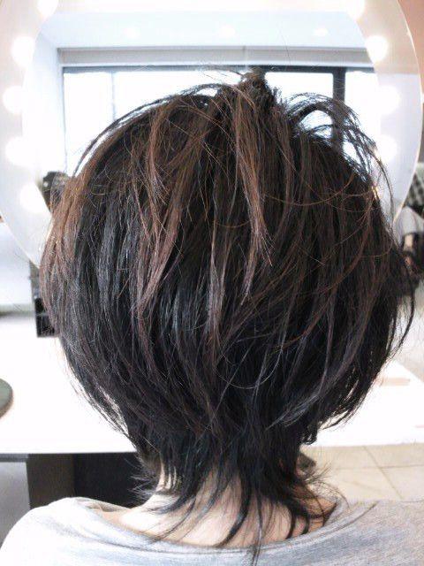 40代・50代・60代ヘアスタイル・ショート Á�画像|表参道・青山・美容室40代・50代・60代ヘアスタイル・髪型