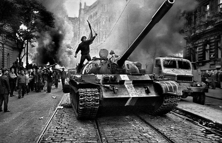 An Iconic Photograph Of The 1968 Prague Spring