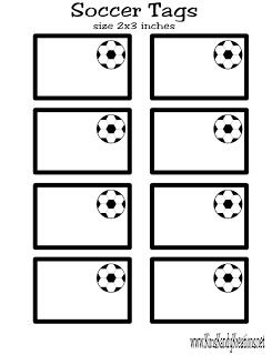 Kandy Kreations: Soccer Ball Chocolate Candy Box Favor & Free Printable