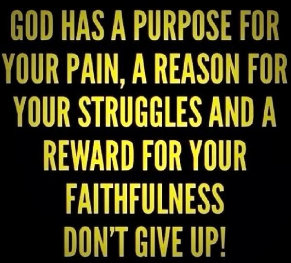 faith quote God quote Always keep God in the center of your life!