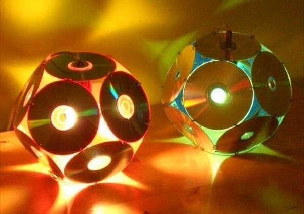 20 Ideas de como hacer lamparas caseras originales Elaboración en - Lamparas Caseras