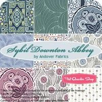 Sybil Downton Abbey Fat Quarter Bundle Andover Fabrics  -Kathy H
