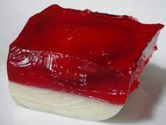 gelatina en forma de pene