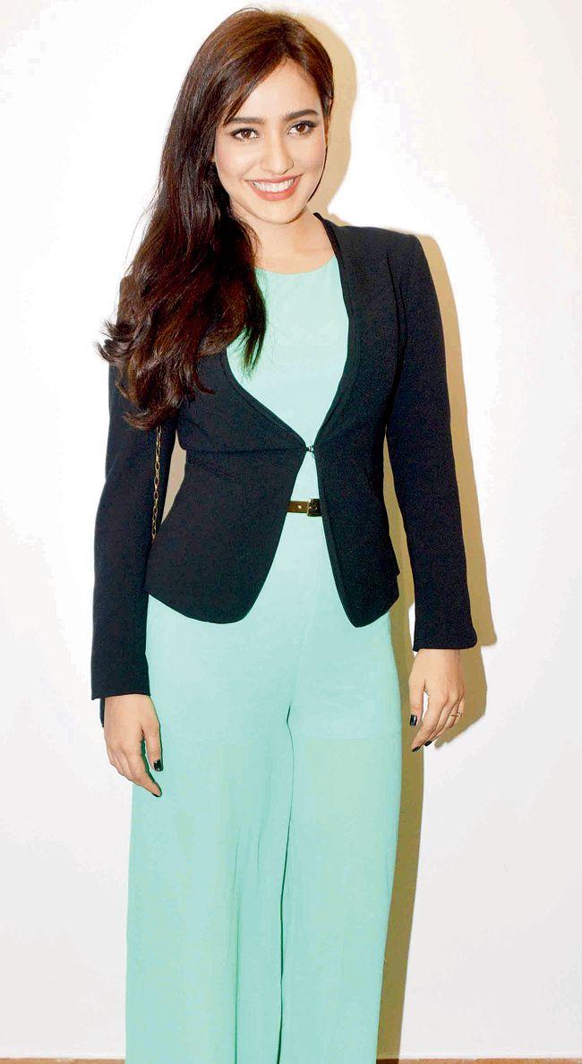 Neha Sharma seen at an event in Mumbai. #Bollywood #Fashion #Style #Beauty