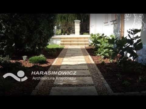 Realizacja ogrodu przy willi.  #projektowanie ogrodów, #hurtownia kamienia, #projektowanie ogrodów Toruń, #projektowanie ogrodów Bydgoszcz, #ogrody Toruń, #ogrody Bydgoszcz