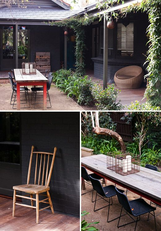 Love this outdoor space - The Design File, Jane & matt martino home, melboune