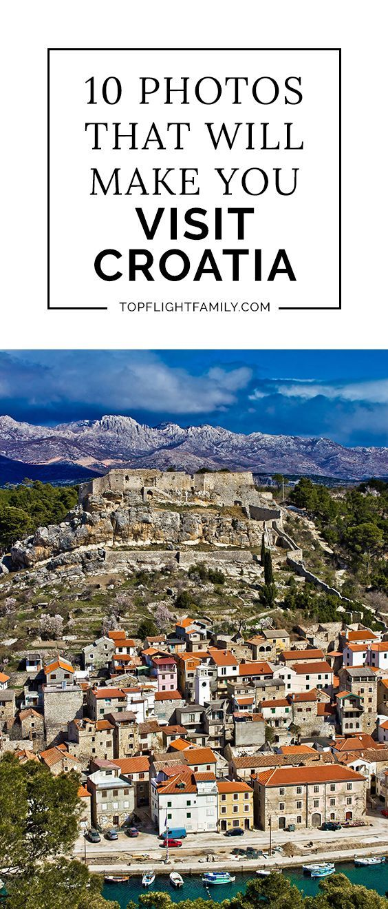 Croatia is one of the most beautiful countries in Europe. These dazzling photos will make you want to travel to Croatia right away.