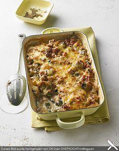 Zucchini - Auflauf, ein gutes Rezept aus der Kategorie Gemüse. Bewertungen: 128. Durchschnitt: Ø 4,4.