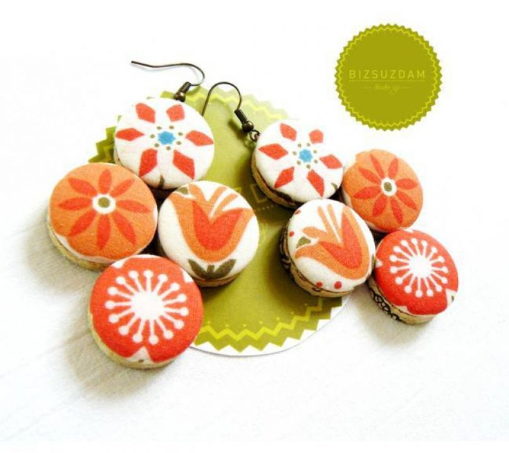 Tavaszi fülbevaló by http://www.breslo.hu/BIZSUZDAM/shop