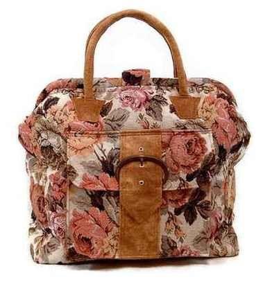 PDF Pattern Carpet Bag Victorian Shabby Chic Mary von BitsandPurses