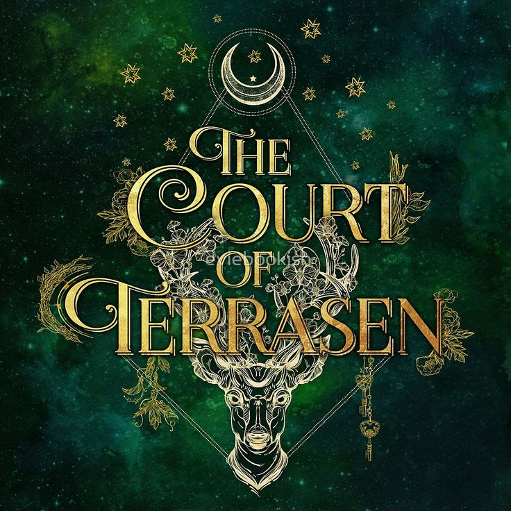 The Court of Terrasen by eviebookish