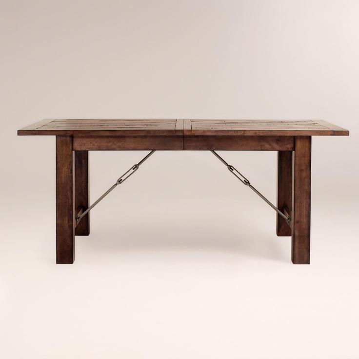$530 seating for 8 Garner Extension Dining Table | World Market