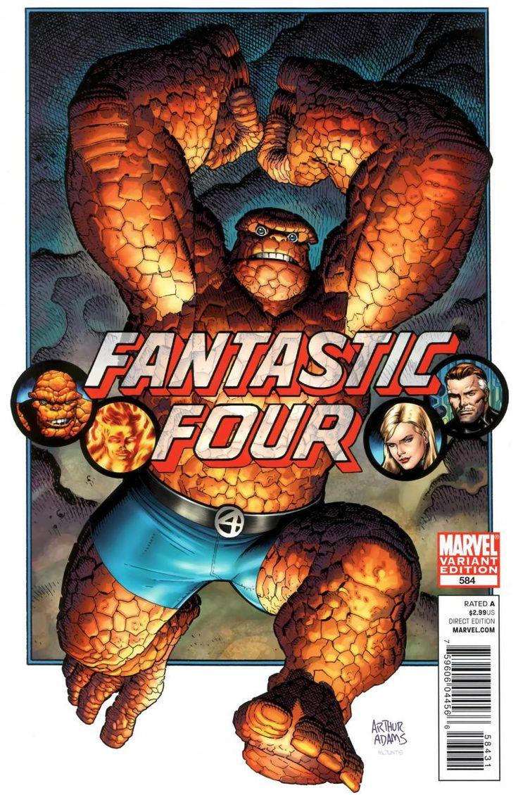 #Thing #Fan #Art. (Fantastic Four Vol.1 #584 Cover) By: Arthur Adams. ÅWESOMENESS!!!™ ÅÅÅ+
