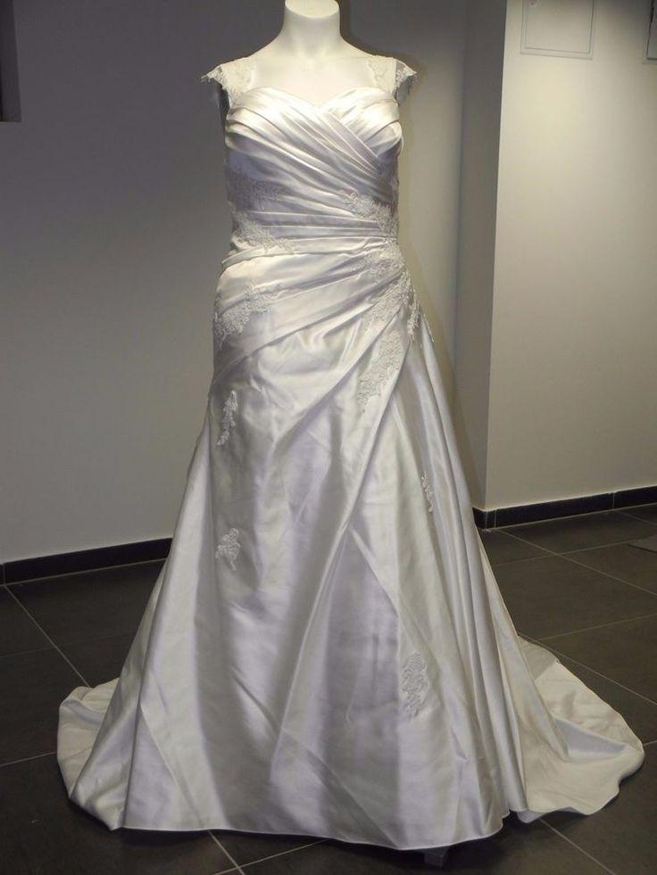Best Edel Abendkleid Brautkleid Sincerity Bridal Ausstellungsst ck gr evl
