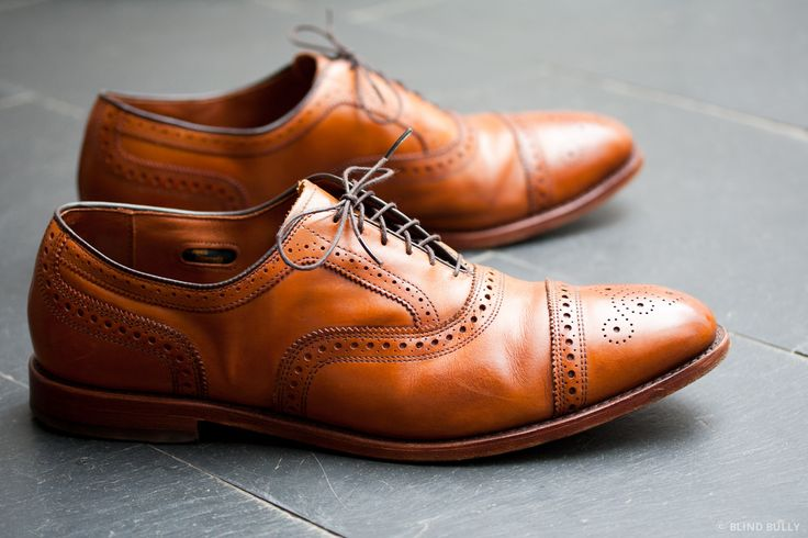 I need to wear these shoes more often.  (Blind Bully) Review: Allen Edmonds Strand in Walnut