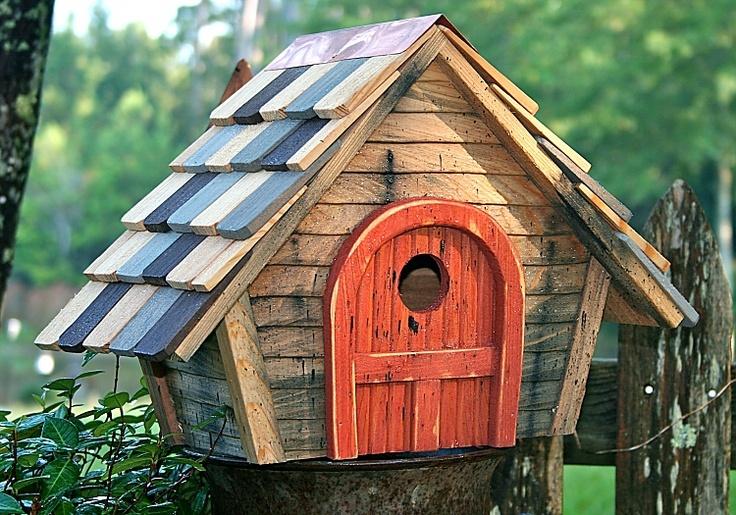 Heartwood Prairie Home Bird House Whimsical Homes Bird