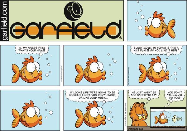 Garfield Comic Strip  for Sep/28/2014 on GoComics.com