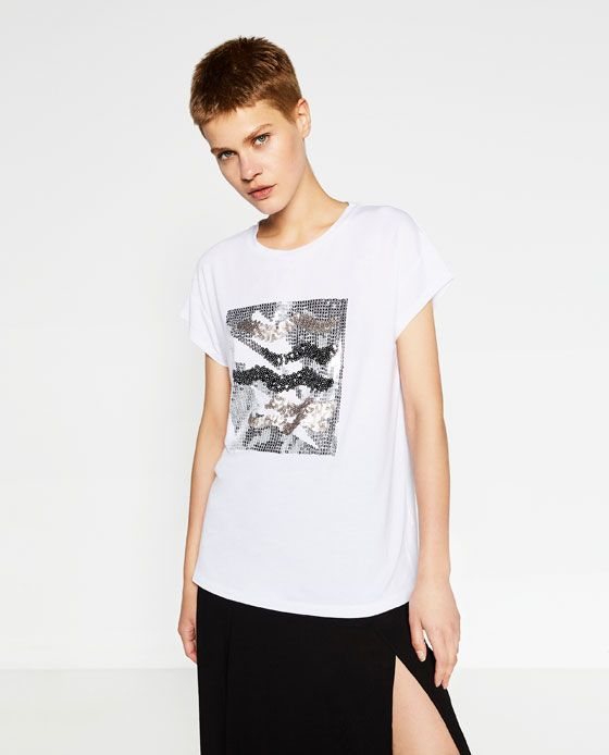 SEQUIN T-SHIRT - Available in more colours