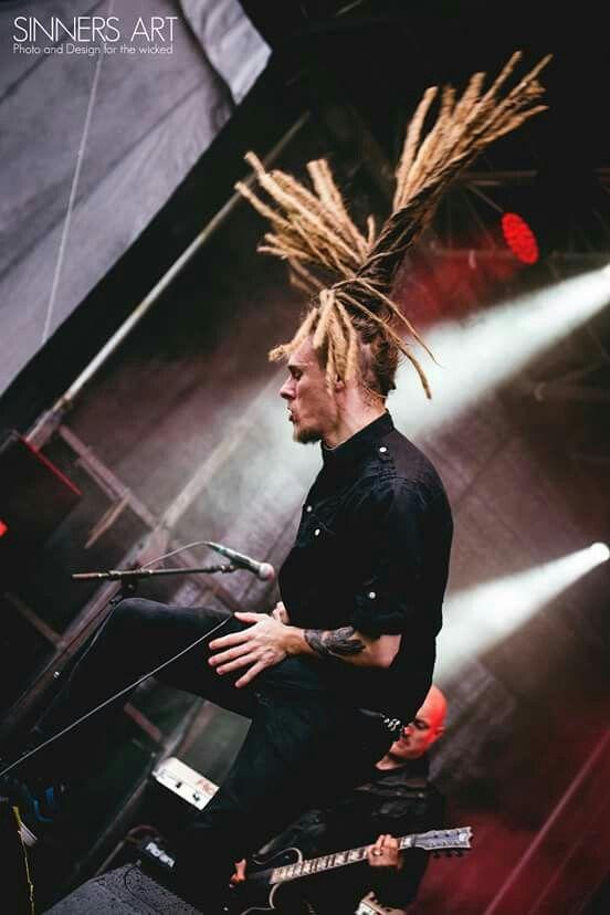 Chris, SAREA live at Metallsvenskan 2015. Photo by www.Sinnersart.se