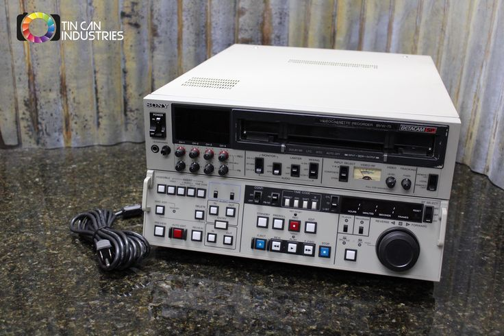 Yes, we actually have one of those! http://tincanindustries.com/products/sony-betacam-sp-bvw-75-editing-cassette-recorder-player-tested-free-shipping?utm_campaign=social_autopilot&utm_source=pin&utm_medium=pin If it is already sold, keep searching, there is plenty more to find.