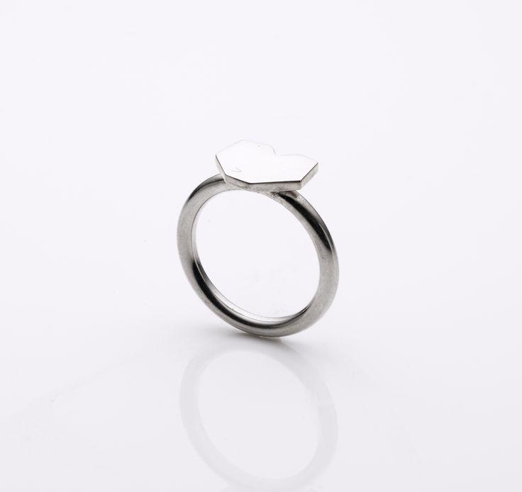 www.misswee.com.au silver heart ring