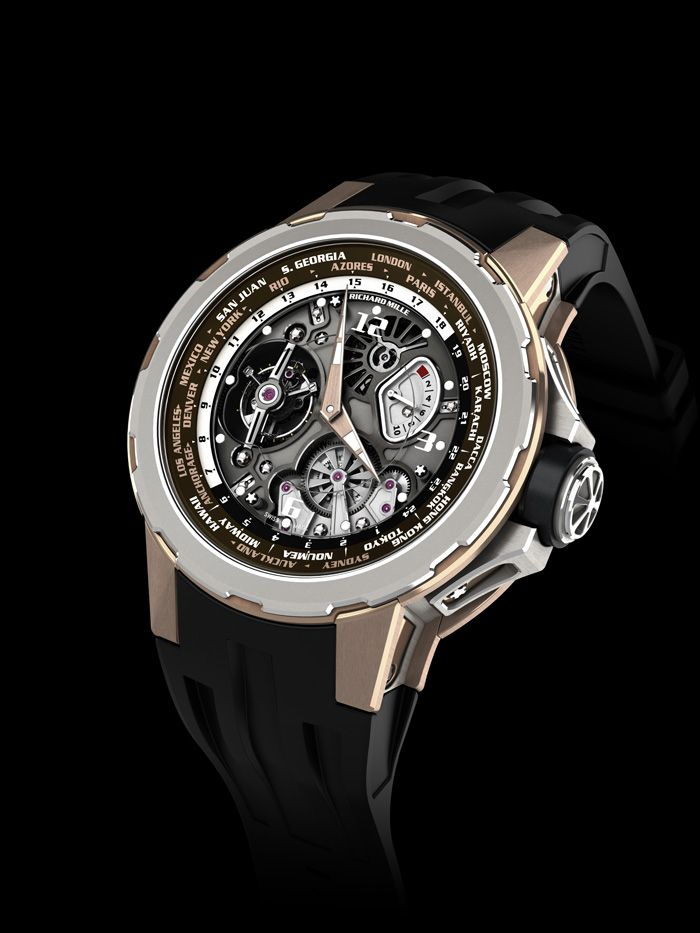 Richard Mille Tourbillon RM 58 01 World Timer Jean Todt Limited Edition