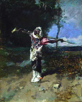 African Chief (1870) -- Mariano Fortuny y Marsal