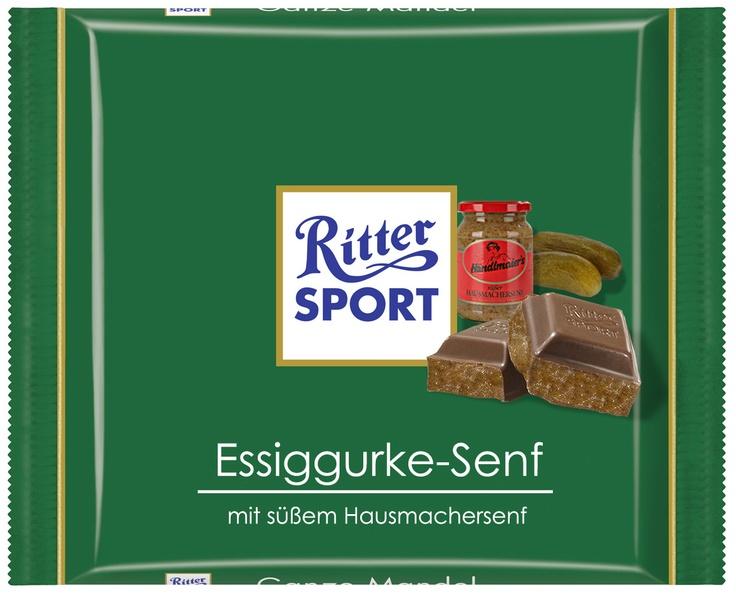 Essiggurke-Senf