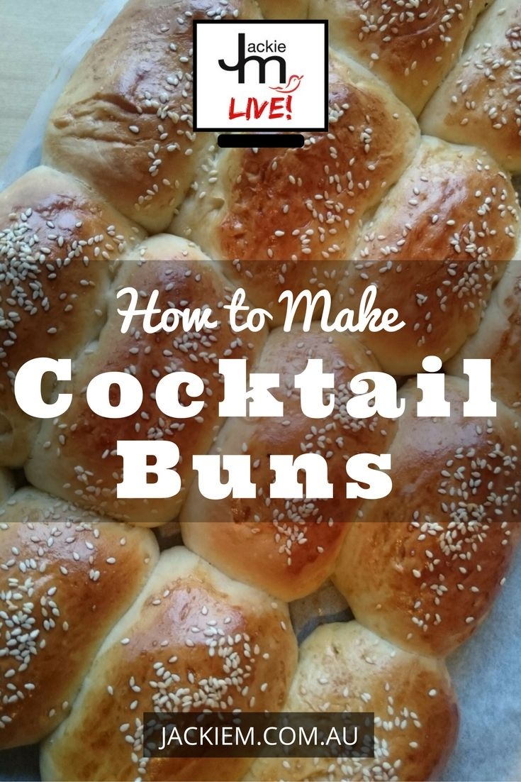 Cocktail buns are soft rolls filled with coconut and can often be found at Chinese bun shops. Here's the full recipe and video on how you can make it at home.