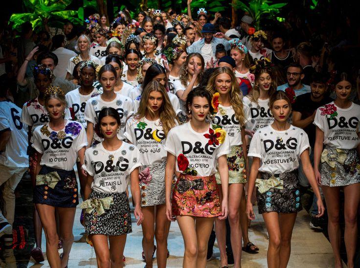 Mailand Fashion Week Frühjahr/Sommer 2017: Finale grande