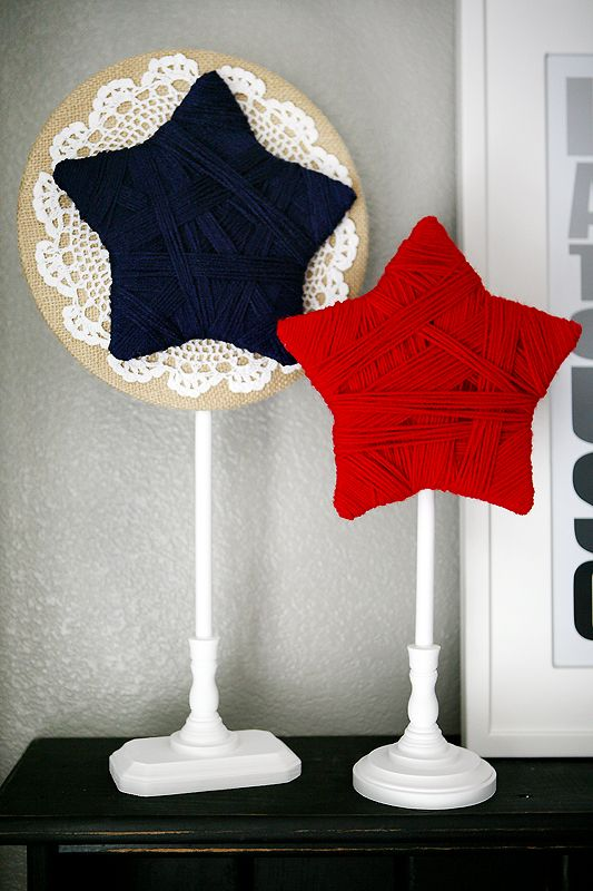 eighteen25: patriotic stars: Holiday, July Projects, Decor Ideas, Diy Crafts, 4Th Of July, American Crafts Decor Treats, Craft Ideas, Patriotic Stars