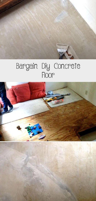 Bargain Diy Concrete Floor | Concrete floors, Loft ...