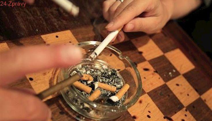 Zima otestuje zákaz kouření, problémem zůstávají pergoly